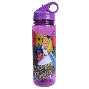 Alice in Wonderland Curiouser and Curiouser 20 Ounce Tritan Water Bottle