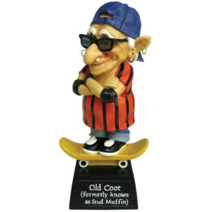 Coots Skateboarder Figurine