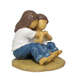 Westland Giftware Forever in Blue Jeans Hugs Figurine