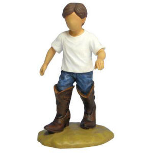 Westland Giftware Forever in Blue Jeans Grow up Cowboy Figurine