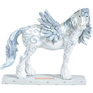 Westland Giftware Horse of a Different Color Angel Clydesdale Horse Figurine