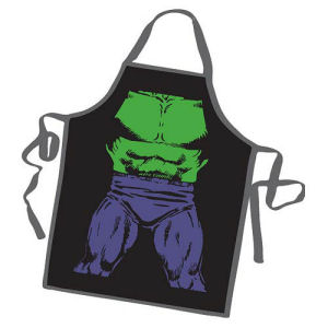 The Incredible Hulk Be the Hero Character Apron