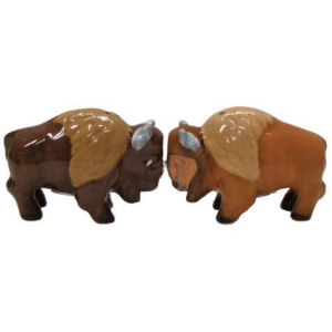 Westland Giftware Mwah! Buffalos Salt and Pepper Shakers