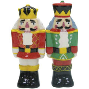 Westland Giftware Mwah! Nutcrackers Salt and Pepper Shakers