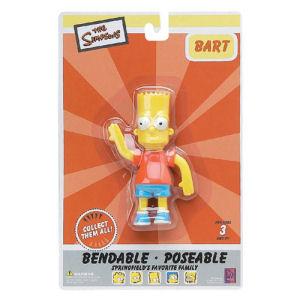 Bart Simpson 4.5 inch Bendable Figurine