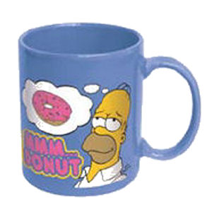 The Simpsons Homer Mmm…Donut Ceramic Mug