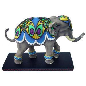 Westland Giftware Tusk Peacock Elephant
