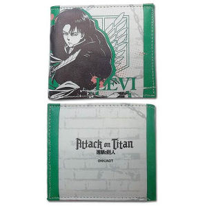 Attack on Titan Levi Boy Wallet