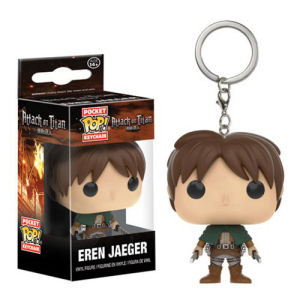 Attack on Titan Eren Jaeger Pocket Pop! Key Chain