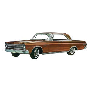 Plymouth 1965 Satellite 1/25th Scale Model Kit