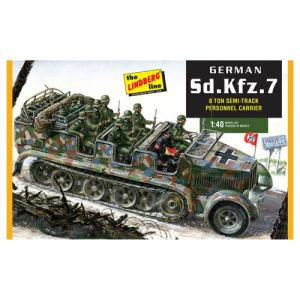 German Half-track Personnel Carrier Model Kit