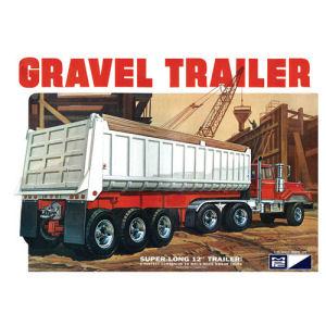 3 Axle Gravel Trailer Model Kit