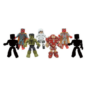 Marvel Minimates Series 63 Avengers Age of Ultron Case