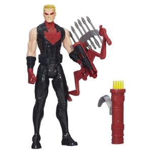 Avengers Titan Heroes Hawkeye Deluxe Electronic Action Figure - Entertainment Earth Exclusive