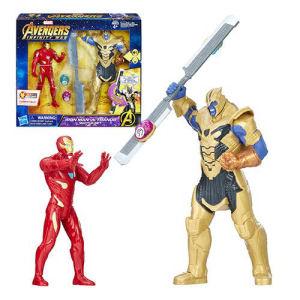 Avengers Infinity War Iron Man vs. Thanos Battle Set Action Figures