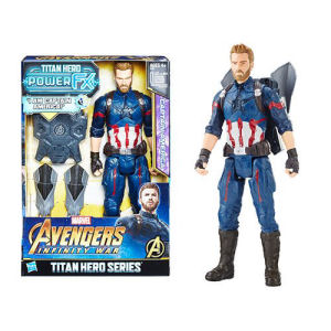 Avengers Infinity War Titan Hero Power FX Captain America 12 Inch Action Figure