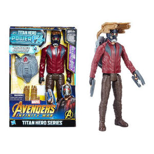 Avengers Infinity War Titan Hero Power FX Star-Lord 12 Inch Action Figure