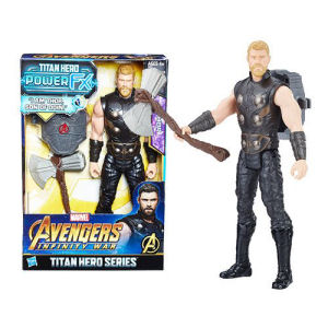 Avengers Infinity War Titan Hero Power FX Thor 12 Inch Action Figure