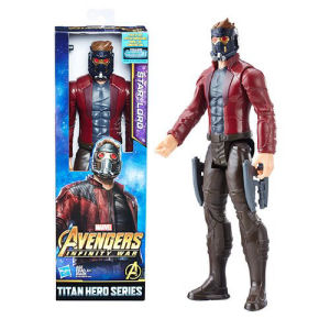 Avengers Infinity War Titan Hero Series Star-Lord 12 Inch Action Figure
