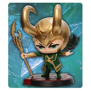 Avengers Age of Ultron Loki Hero Remix Bobble Head