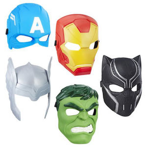Avengers Hero Masks Wave 2 Case