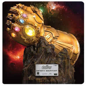 Marvel Infinity War Infinity Gauntlet MC-004 Replica Statue - Previews Exclusive