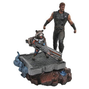 Marvel Premier Collection Avengers: Infinity War Thor and Rocket Raccoon Statue