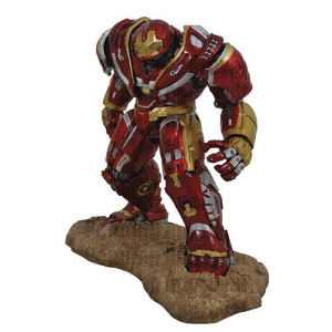Marvel Premier Collection Avengers Infinity War Hulkbuster Statue. This is a limited edtion of 3000 pieces sculpted by Gentle Giant studios. Measures 16 inches tall. Hand Numbered.