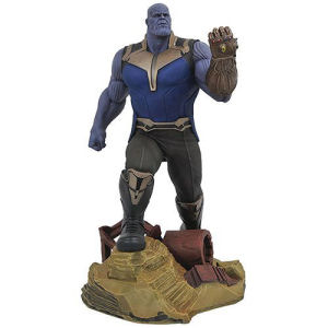 Marvel Gallery Avengers Infinity War Thanos Statue. The PVC plastic diorama statue comes packaged in a full-color window box.