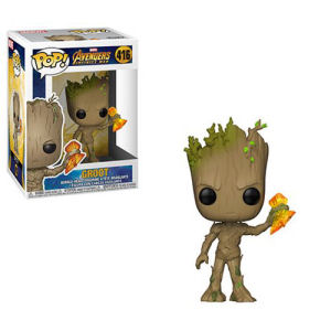 Avengers Infinity War Groot with Stormbreaker Pop! Vinyl Figure #416