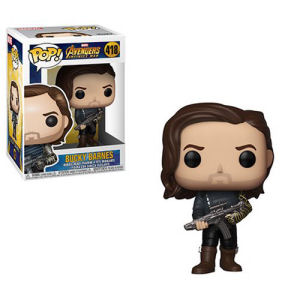 Avengers Infinity War Bucky Barnes with Weapon Pop! Vinyl Figure #418