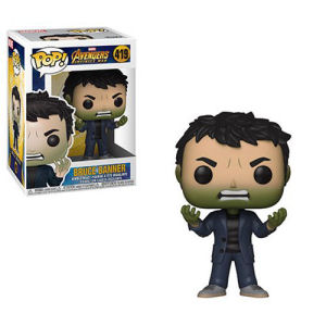 Avengers Infinity War Banner with Hulk Head Pop! Vinyl Figure #419