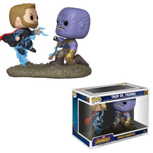 Avengers Infinity War Thor Vs. Thanos Pop! Vinyl Figure Movie Moments #707