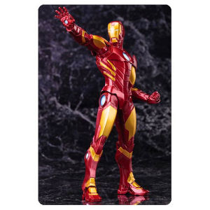 Marvel Comics Avengers Now Iron Man Red Variant ArtFX+ Statue