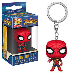 Avengers Infinity War Iron Spider Pocket Pop! Key Chain