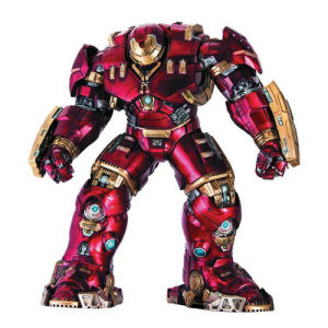 Avengers Age of Ultron Hulkbuster Iron Man Action Hero Vignette 1/9th Scale Pre-Assembled Model Kit