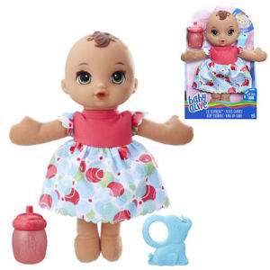 Baby Alive Lil Slumbers Doll Brunette