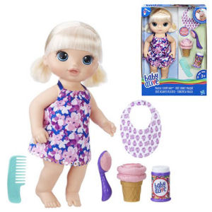 Baby Alive Magical Scoops Baby Doll Blonde