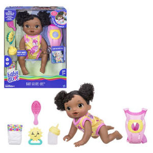 Baby Alive Baby Go Bye Bye African American Doll