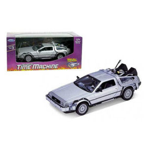 Back to the Future DeLorean 1981 Time Machine Die-Cast Metal 1/24th Scale Vehicle