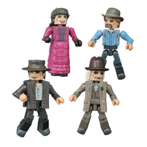Back to the Future 30th Anniversary 1885 Minimates Box Set