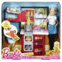 Barbie Spaghetti Chef Caucasian Doll and Playset. Create pasta noodles with a simple push of the lever. Great kitchen play time.