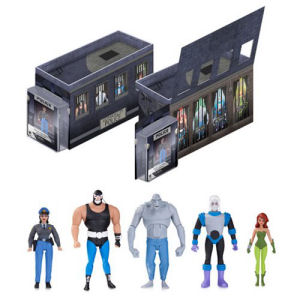 Batman The Animated Series Light-Up GCPD Rogues Gallery Action Figure 5-Pack