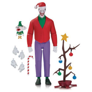 Batman The Animated Series Christmas Joker Action Figure