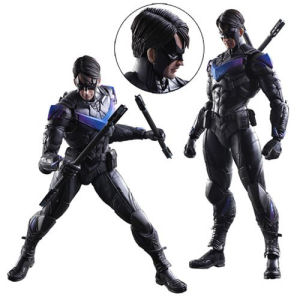 Batman Arkham Knight Nightwing Play Arts Kai Action Figure