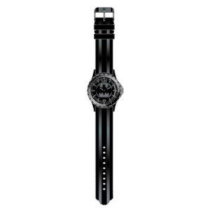 Batman Black Logo Rubber Strap Watch