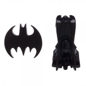 Batman Logo and Batmobile Lapel Pin