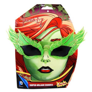 Batman Poison Ivy Leaf Sun-Staches
