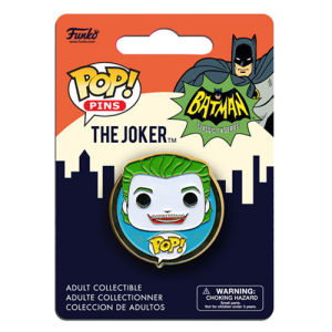 Batman Classic 1966 TV Series Joker Pop! Pin