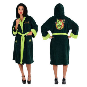 DC Comics Bombshells Poison Ivy Fleece Bathrobe